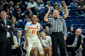 Gabby Cooper is the lone returning starter for the Orange which opens its season on Nov. 10 against Morgan State.