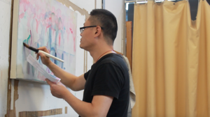 Tong Zhang, who moved to the United States from China, received a $15,000 grant for his work.